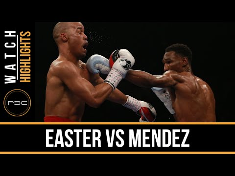 Easter vs Mendez HIGHLIGHTS: April 1, 2016 - PBC on Spike