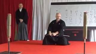 Техника владения мечом самураев