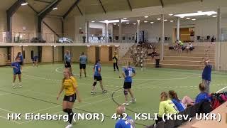 Handball. KSLI (Kiev, UKR) - HK Eidsberg (NOR). Viborg. U16 girls. Group 5. GENERATION HANDBALL-2018