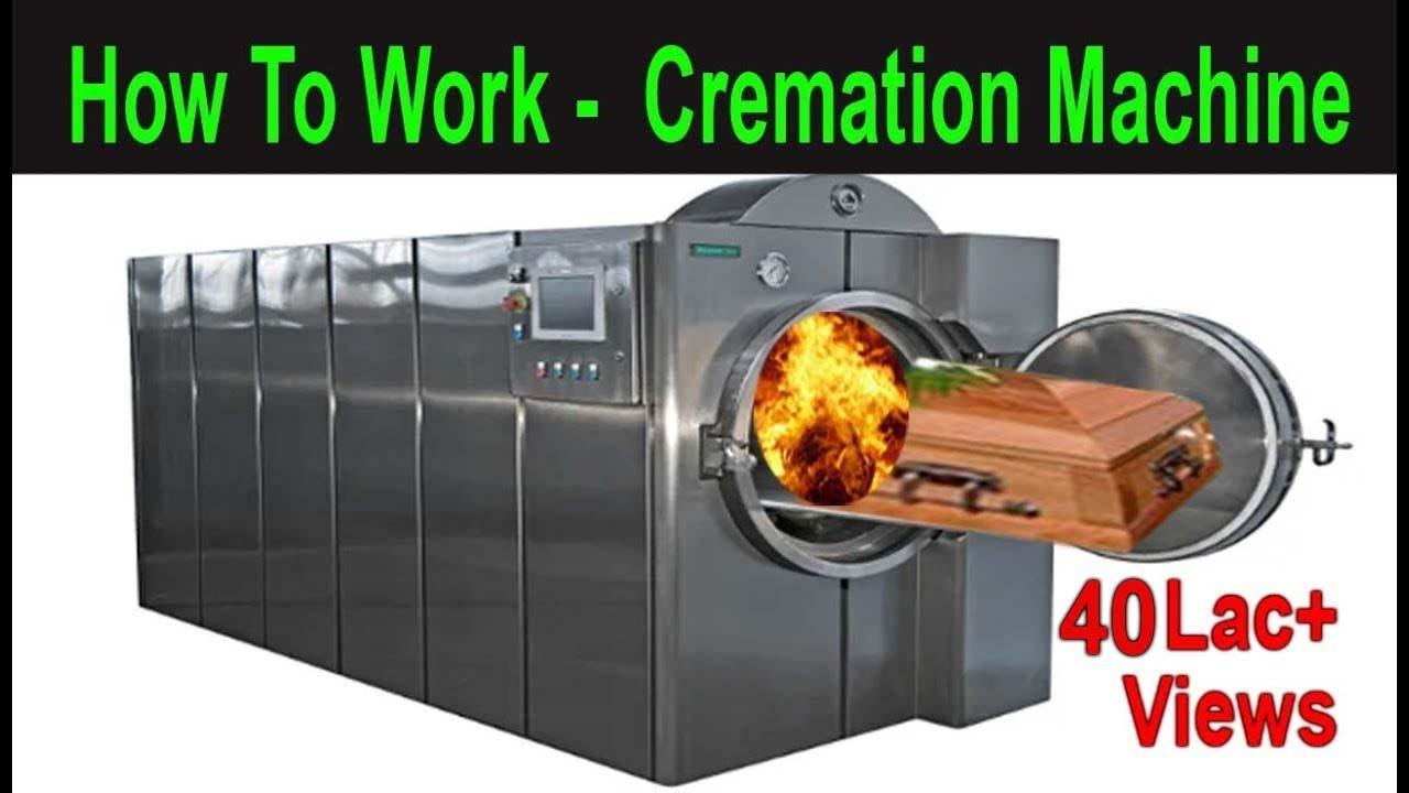 Electric crematorium Equipment For Human Dead Body