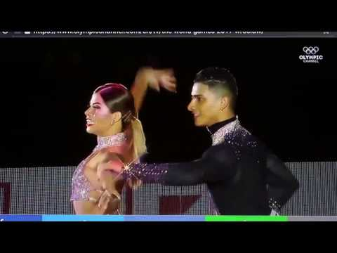 World Games 2017 (Salsa) Segundo lugar - Adriana Ávila y Jefferson Benjumea Colombia