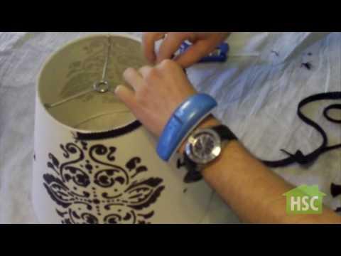 How to Make Custom Lamp Shades
