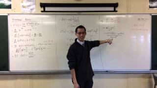 Quotient Rule (2 of 2: Simple Example)