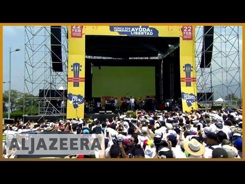 🇻🇪 🇨🇴 Rival concerts held as Venezuela power struggle intensifies l Al Jazeera English Mp3