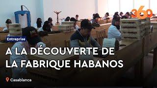 Le360.ma • Habanos S.A : A la découverte de la première fabrique de cigares au Maroc