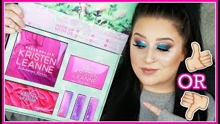 URBAN DECAY X KRISTEN LEANNE COLLAB COLLECTION REVIEW + FIRST IMPRESSIONS!!