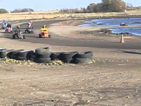 racing lawn mower races part 3 tampico IL TNT speedway