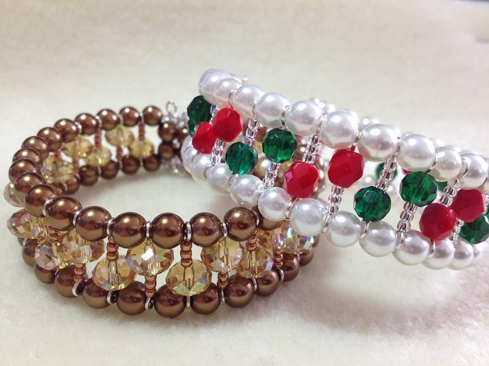 Tutorial) Opulent Christmas Bracelet (Video 111) - YouTube