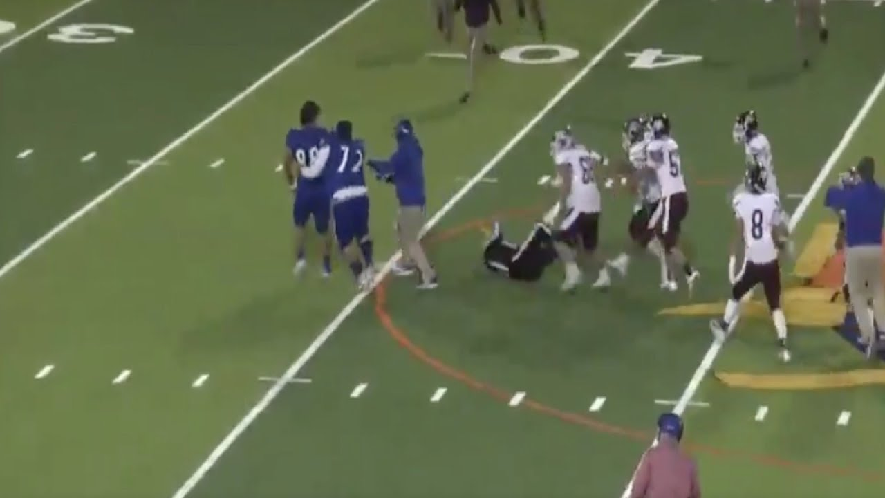 Texas high school football player seen on video tackling referee is ...