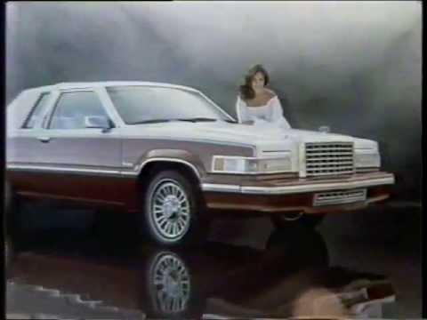 1980 Erin Gray Ford Thunderbird Commercial