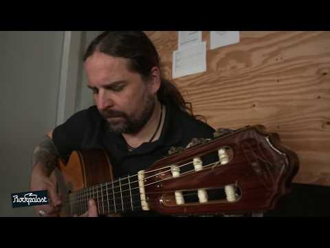 Andreas Kisser ( Sepultura) with Acoustic guitar 2017