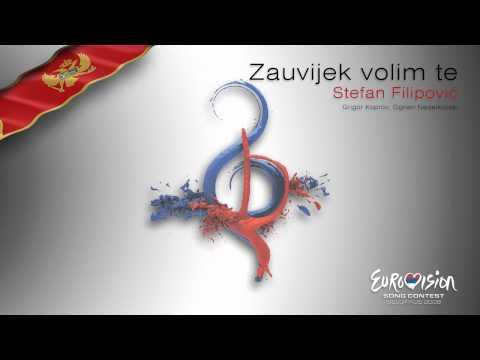 """Stefan Filipović - """"Zauvijek Volim Te"""" (Montenegro) - [Karaoke version]"""