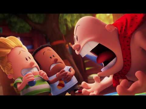 Thumbnail: Captain Underpants | 'Water' | Official HD Clip 2017