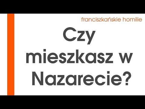 Czy mieszkasz w Nazarecie?