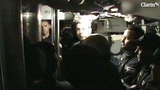 Submarino ARA San Juan: el conmovedor video de los submarinistas antes de salir al mar