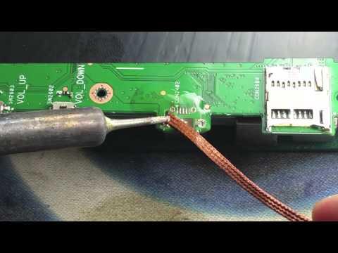 Toshiba Tablet AT300SE/AT305SE Charging Port Repair