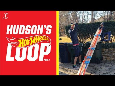 Hudson's Loop: Hudson and his Logano Loop, aka Hudson's @Hot Wheels Loop