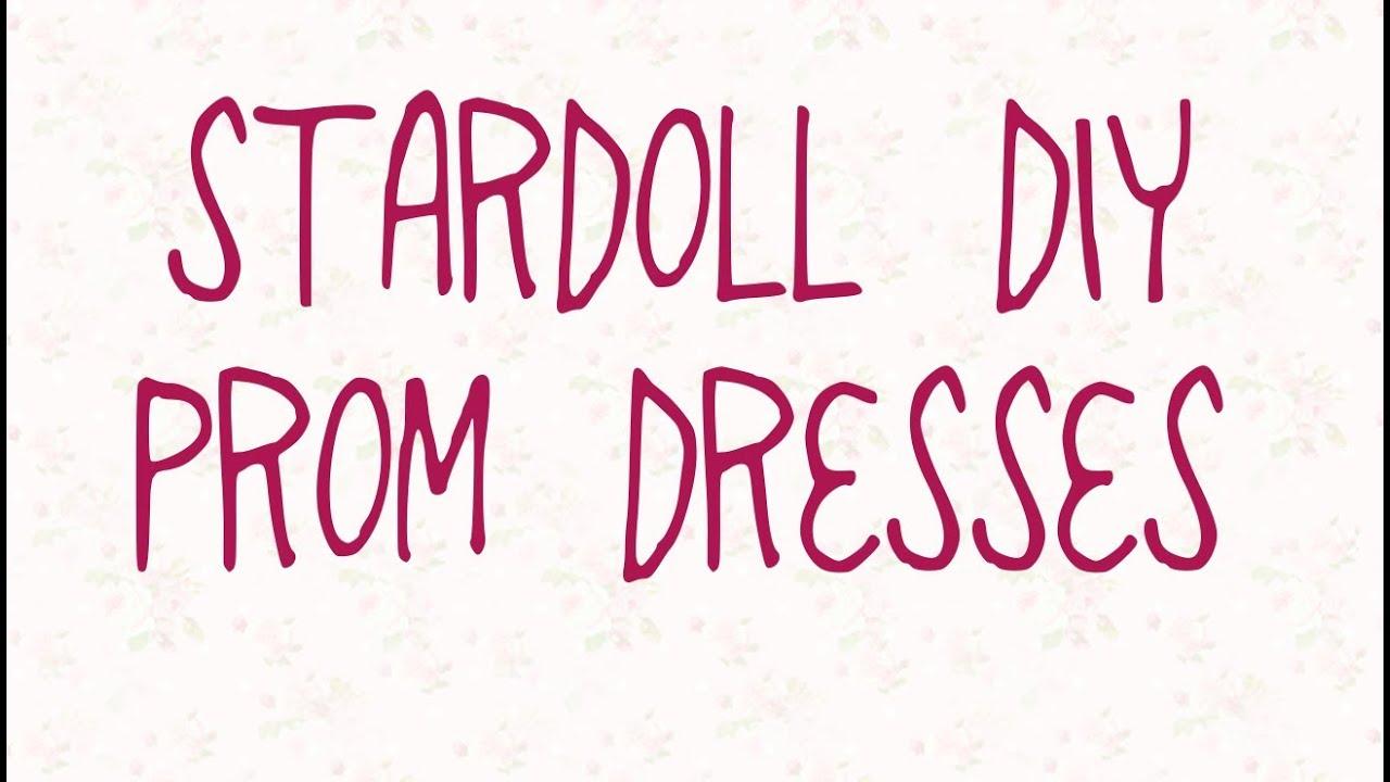 Stardoll Prom Dress