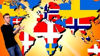 How Sweden, Denmark, & Norway ALMOST Conquered the World