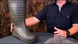 видео ботинки для зимней рыбалки
