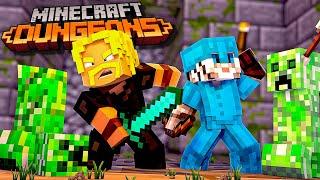 CREEPER SKOVEN! *NYT MINECRAFT SPIL* :: Minecraft Dungeons Dansk