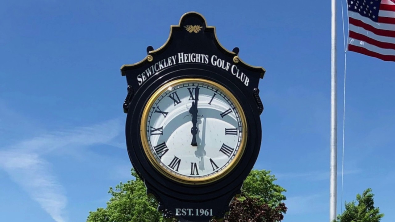 Golf Course Clocks Rolex Type