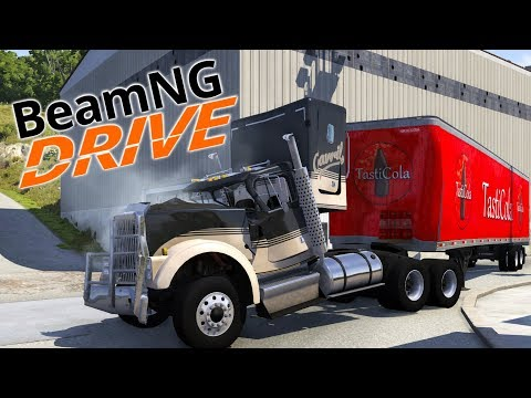 I Am The Worst Coke Zero Delivery Driver in BEAMNG.DRIVE