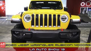 2020 Jeep Wrangler Rubicon 4Doors - Exterior And Interior - LA Auto Show 2019