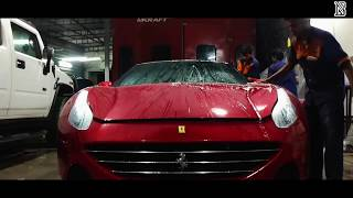The Only Peelable Paint Ferrari in India (Process)