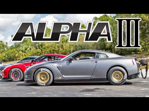5,000 HORSEPOWER in GTRs - The Alpha 3!