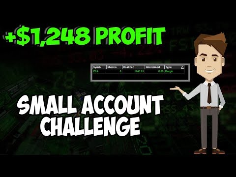 Making Over $1,000 Day Trading Penny Stocks With A Small Account | Day Trading 101