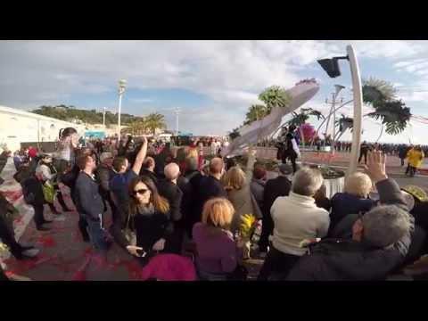 Bataille des Fleurs / Battle of flowers @Nice France (GoPro Hero 4)