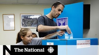 Exit polls show Israeli PM Netanyahu short of securing a parliamentary majority