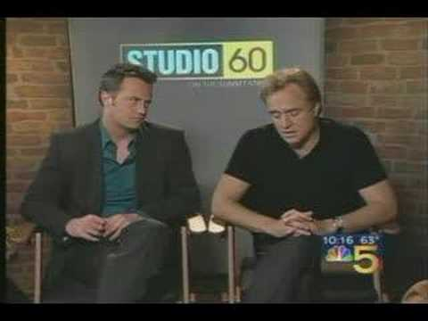 Matthew Perry and Bradley Whitford on Ch 5 Chicago News