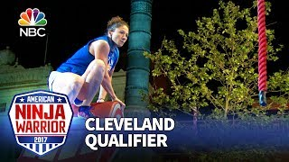 Sarah Poulin at the Cleveland Qualifiers - American Ninja Warrior 2017