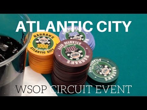 Tournaments, Cash, and Wandering the Boardwalk - Atlantic City WSOP Circuit Part 1 - Poker Vlog #13