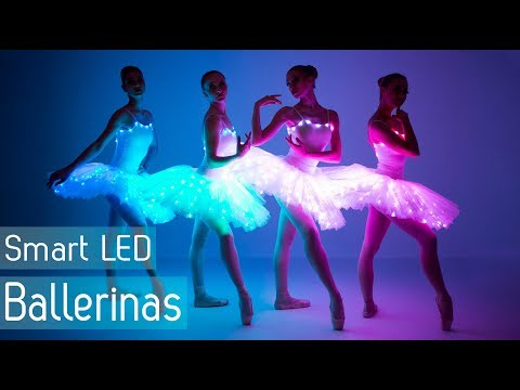 Ballet dance revolution 2018 | LED light up tutus for ballerinas