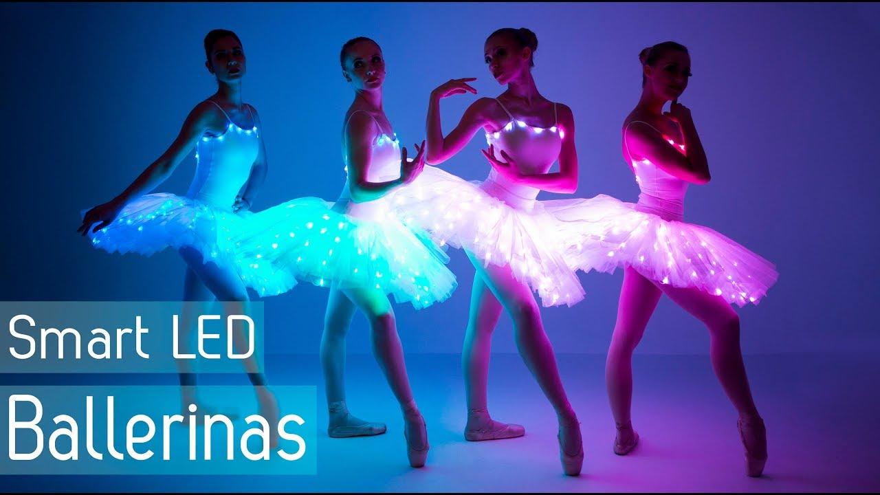 Ballet Dance Revolution 2018 Led Light Up Tutus For
