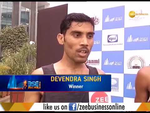 BSE Bull Run 2018: Devendra Singh of Running body club gets first position