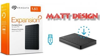 Seagate Expansion 1.5TB Portable External Drive !!!!Hard Disk HDD!!!!