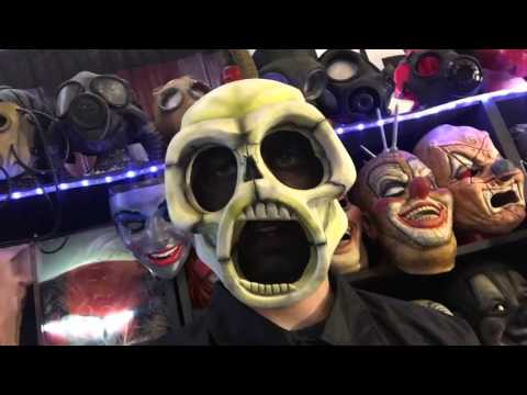 Slipknot Mask Unboxing-Iowa Sid Masks