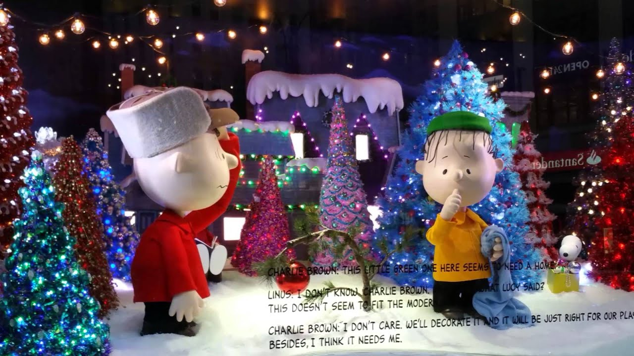 New York City 2015 Christmas Windows - YouTube