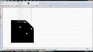 Torchmate Cad/cam -- Gusset And Caster Wheel Mounting Plate
