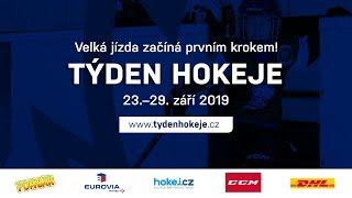 V září 2019 čeká děti a jejich rodiče další Týden hokeje
