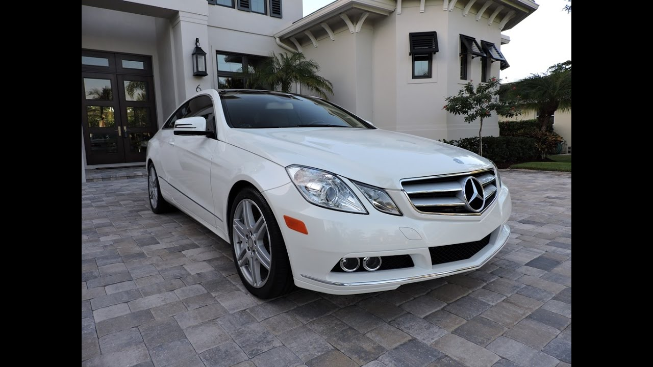 2011 mercedes benz e350 coupe amg sport for sale by auto. Black Bedroom Furniture Sets. Home Design Ideas