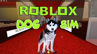 Симулятор собаки в #ROBLOX. Игра для детей. Детский летсплей Dog Simulator #EnniBenny
