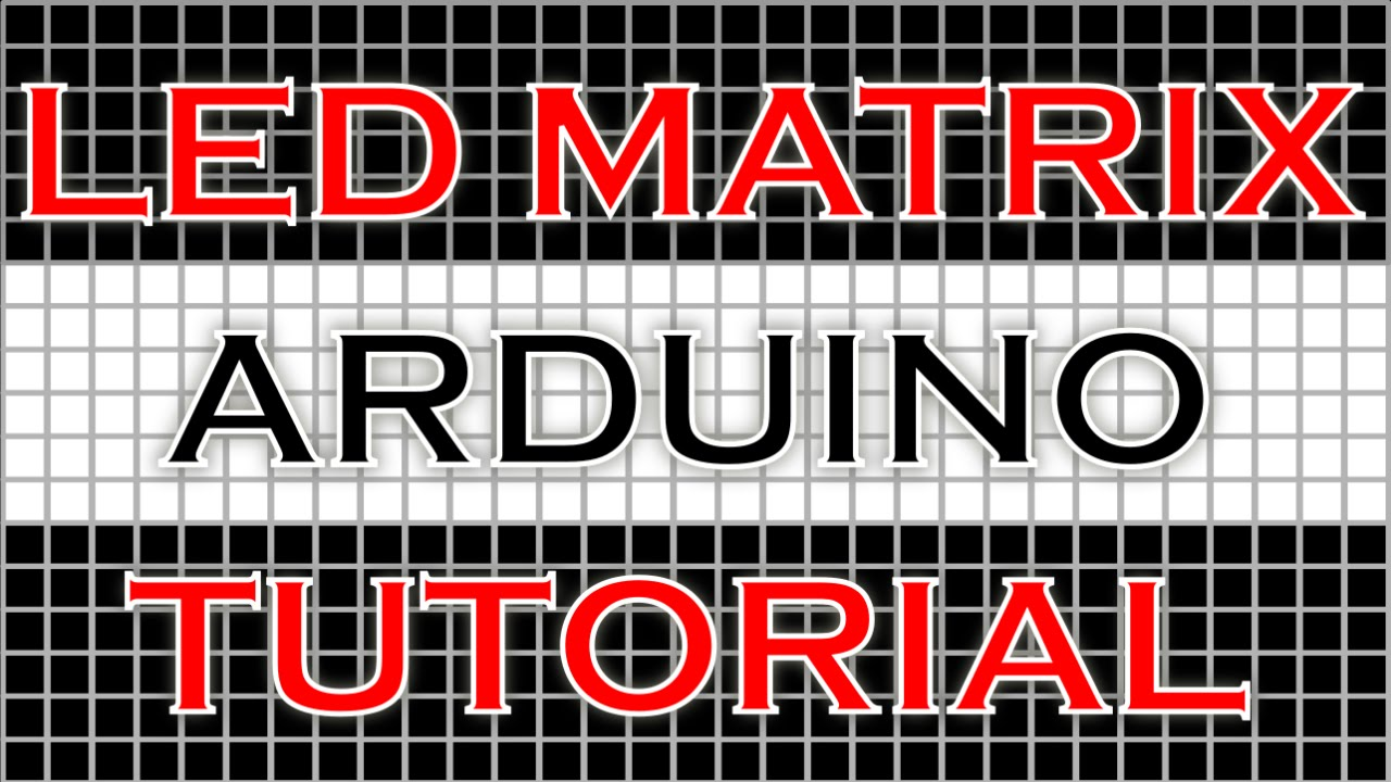 Control Led Display Matrix Using Arduino Electronics Project Youtube Circuit Boardmoney Counting Machine Boardled Board