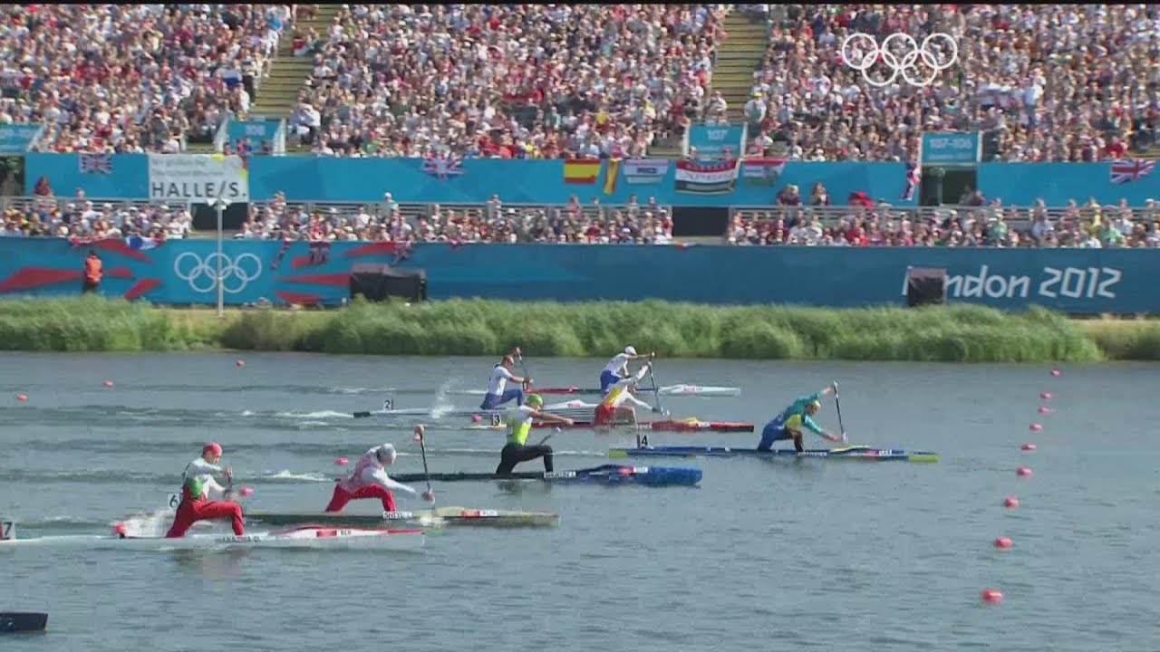 Ukraines Yuri Cheban Wins 200m Canoe Sprint Gold