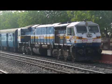 22945 Saurashtra Mail Arrives Than Junction