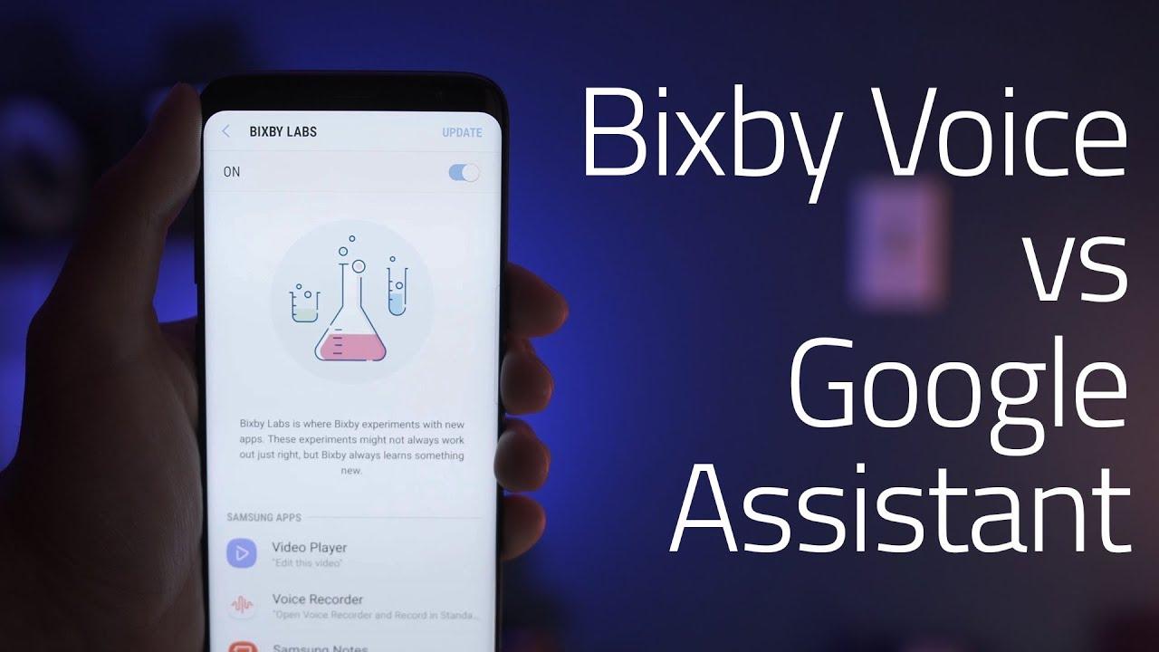 Bixby Voice vs Google Assistant